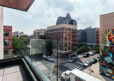 Common Macy Apartments Balcony